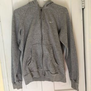 Vintage oversized nike zip up hoodie
